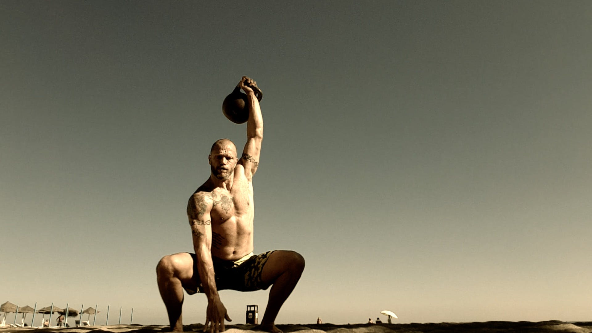Free stock photo of beach, dead snatch, exercise, fitness
