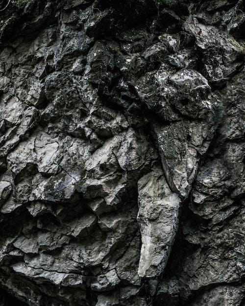 Foto d'estoc gratuïta de estampat, fons, formigó, fosc