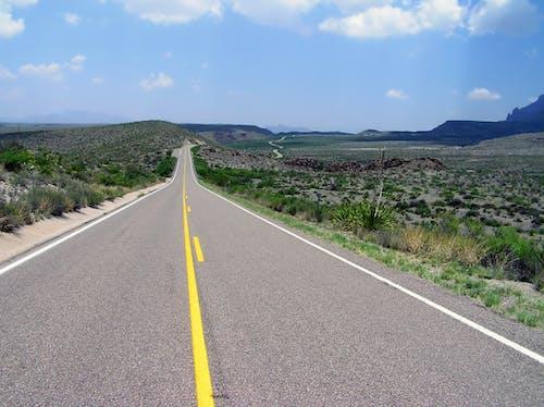 Imagine de stoc gratuită din autostradă, călătorie, cer