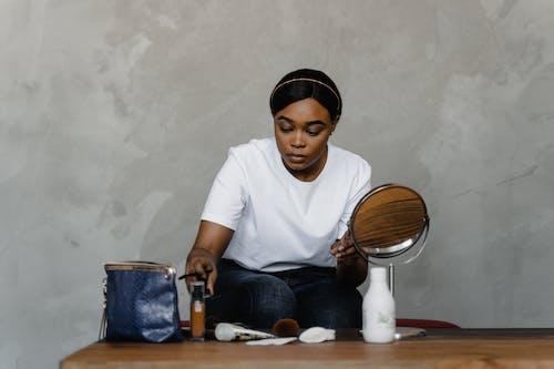 Woman Doing Makeup