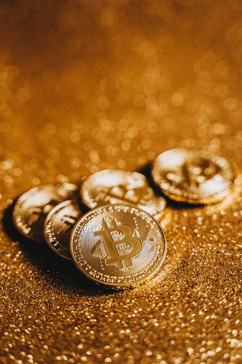 Close-Up Shot of Gold Coins