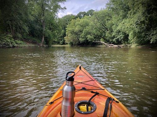 Free stock photo of creek, kayak, kayaking