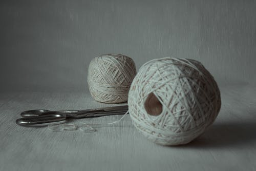 Free stock photo of ball, cotton, craft
