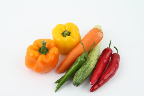 Základová fotografie zdarma na téma čerstvý, čili papričky, jídlo, organický