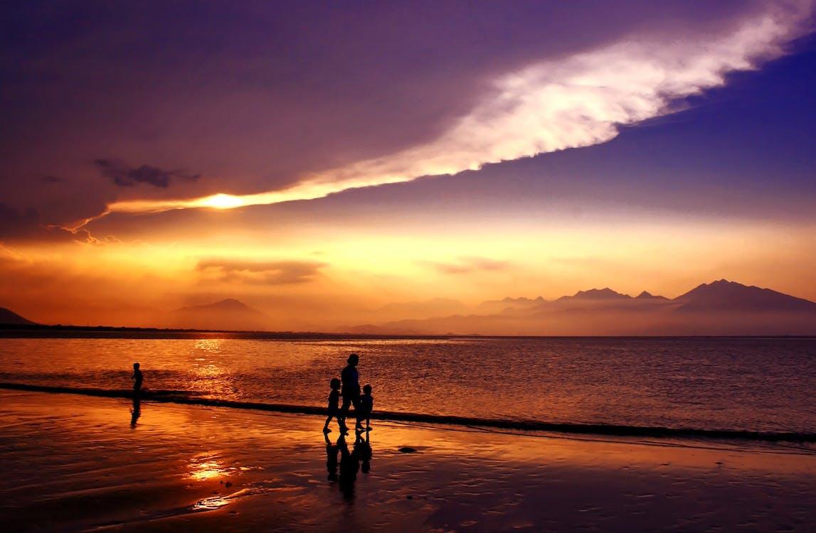 Ilmainen kuvapankkikuva tunnisteilla auringonlasku, auringonnousu, hiekka
