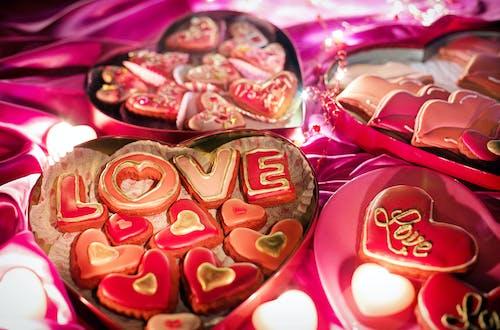 Ảnh lưu trữ miễn phí về bánh quy, bánh quy valentine, cục kẹo