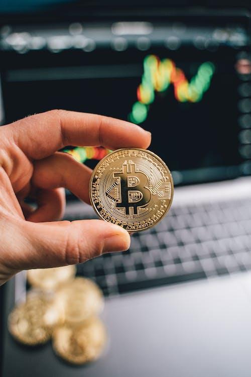 Immagine gratuita di azione, bitcoin, business