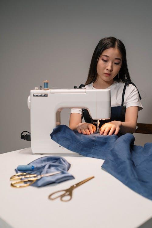 Fotos de stock gratuitas de artesanía, asiática, cosiendo