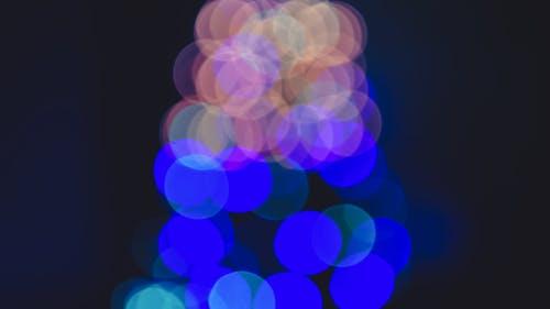 Free stock photo of blue orange bokeh, bokeh, bokeh colors