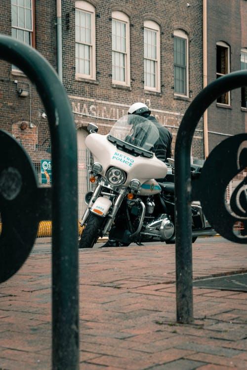 Fotos de stock gratuitas de motocicleta, nashville, oficial de policia
