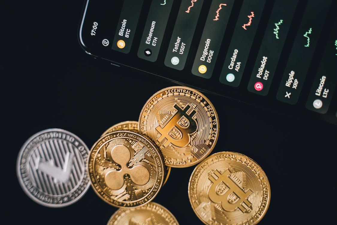 Free stock photo of achievement, bank, bitcoin