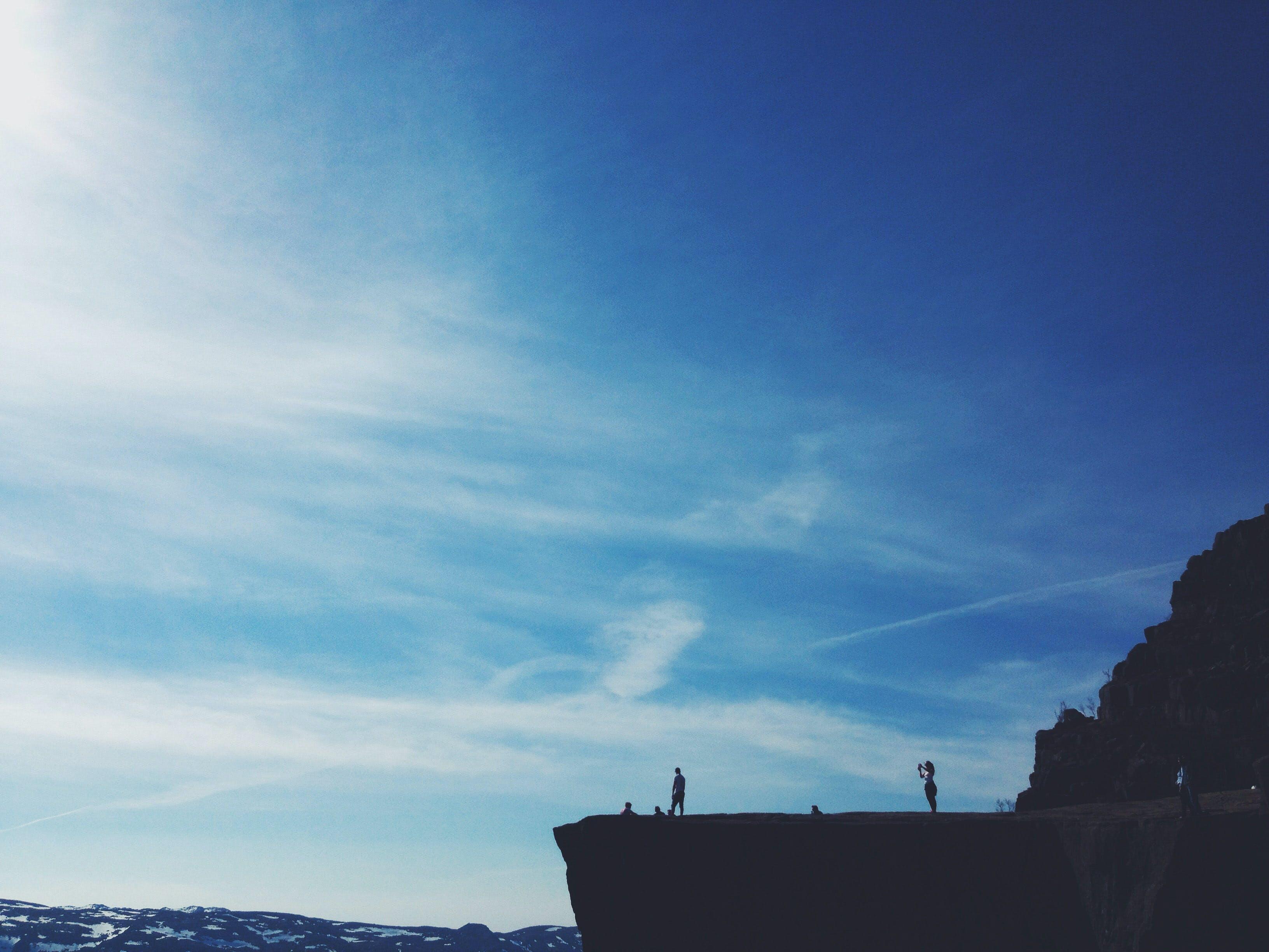 Kostnadsfri bild av äventyr, berg, himmel, klippa