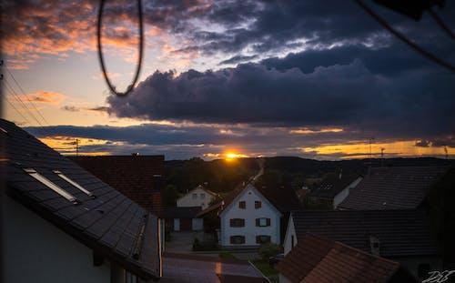 Kostenloses Stock Foto zu desktop hintergrundbilder, hd wallpaper, sonnenuntergang