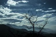 mountains, nature, sky