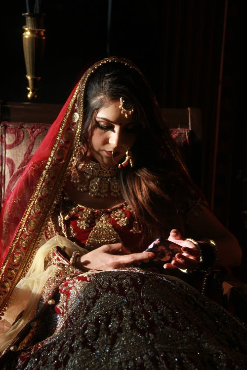 Free stock photo of beautiful bride, bridal jewelry, bride