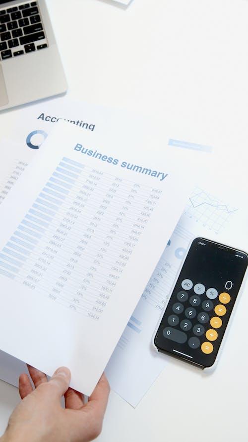 Free stock photo of account, accounting, achievement