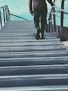 stairs, fashion, man