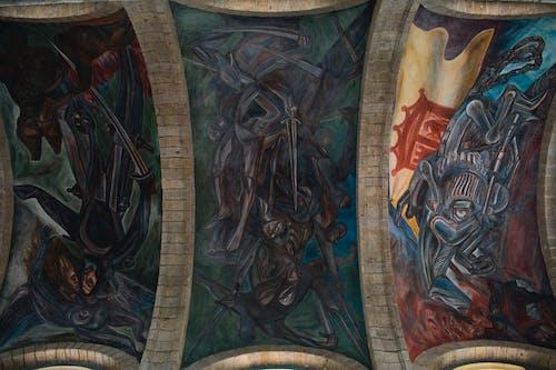 Darmowe zdjęcie z galerii z architektura, clemente orozco, farba, guadalajara