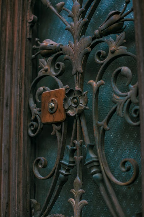 Základová fotografie zdarma na téma architektura, brána, bronz