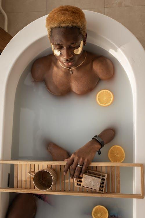 アフリカ系アメリカ人, オーバーヘッド, おとこの無料の写真素材