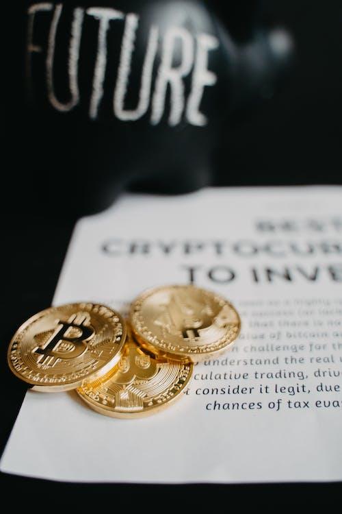 Free stock photo of achievement, banking, bitcoin