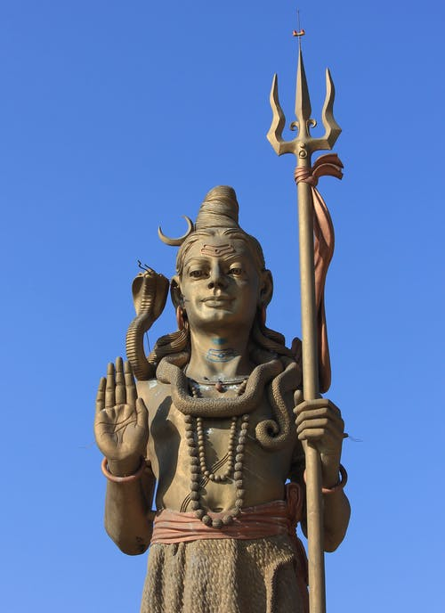 Gratis arkivbilde med blå himmel, gud, hinduisme, klar himmel