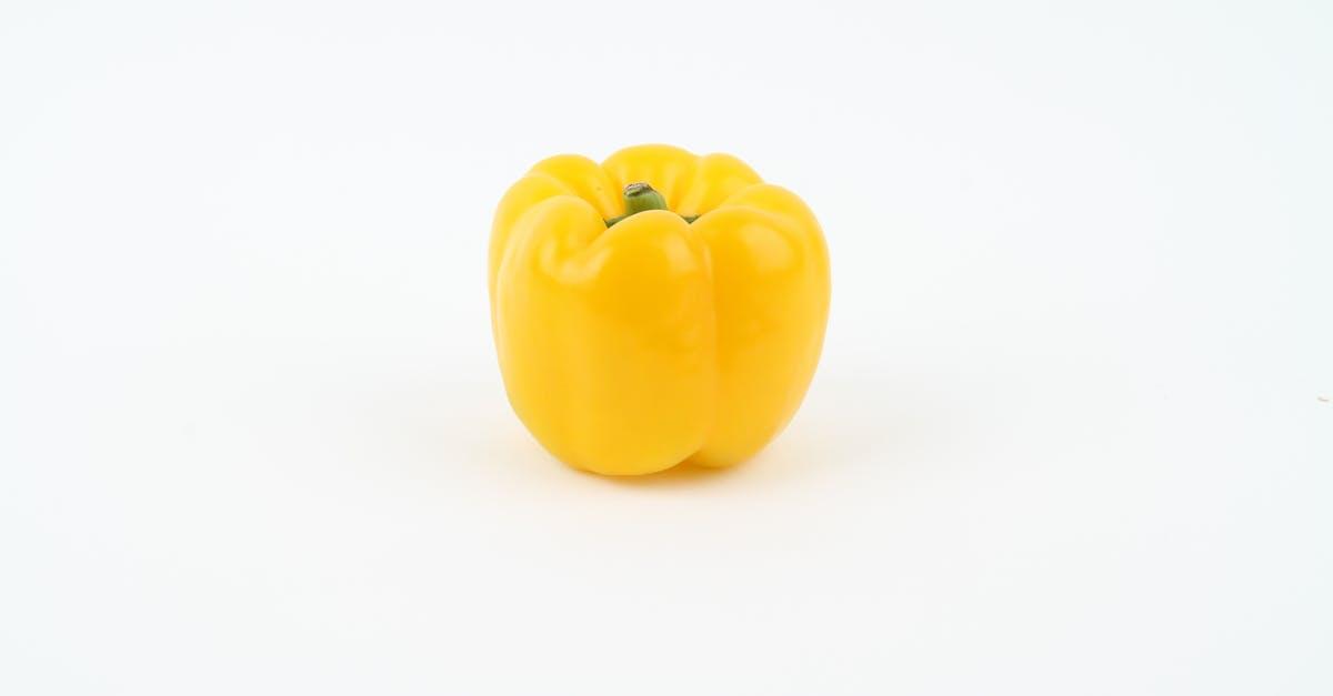 Yellow Round Fruit on White Background · Free Stock Photo