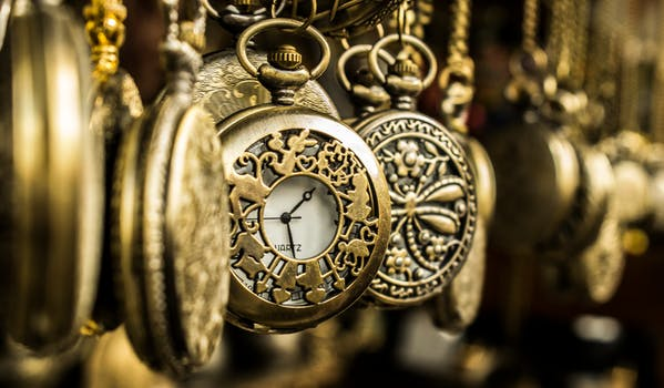 Brass Pocket Watches