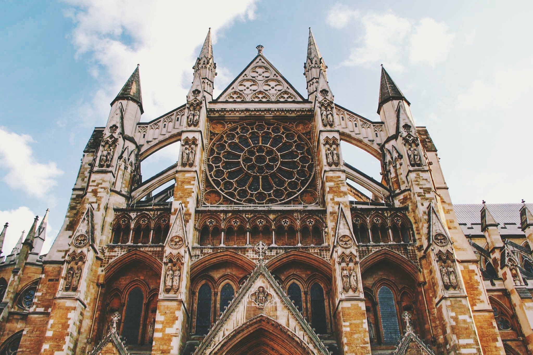 Low Angle Photography of Beige and Brown Cathedral