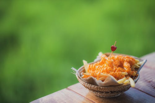 Free stock photo of blur, bowl, carrot
