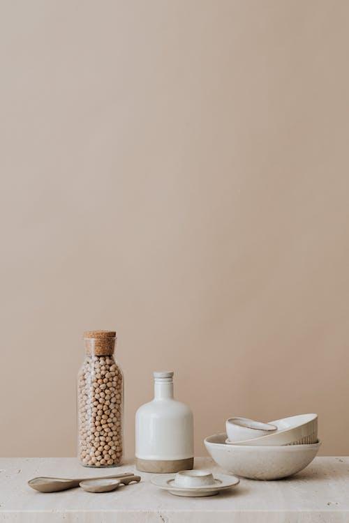 大理石檯面, 復古, 瓶子 的 免費圖庫相片