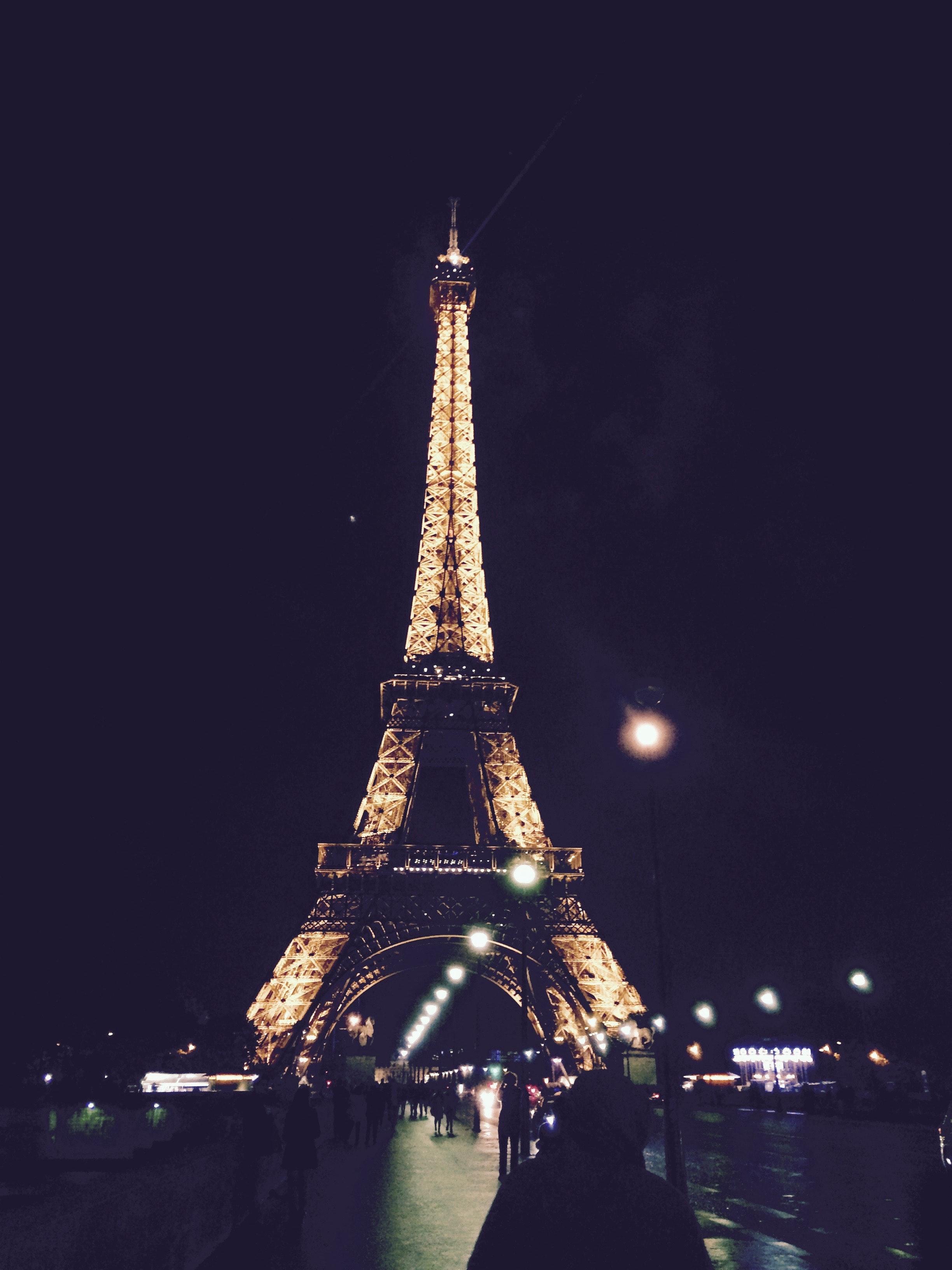 Eiffel Tower, Paris at Nighttime Sam Walker
