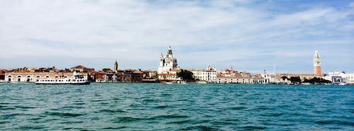 도시, 물, 베니스, 스카이라인의 무료 스톡 사진