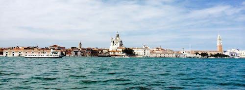 Fotobanka sbezplatnými fotkami na tému Benátky, kanál, mesto, panoráma