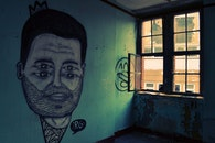 light, street, graffiti