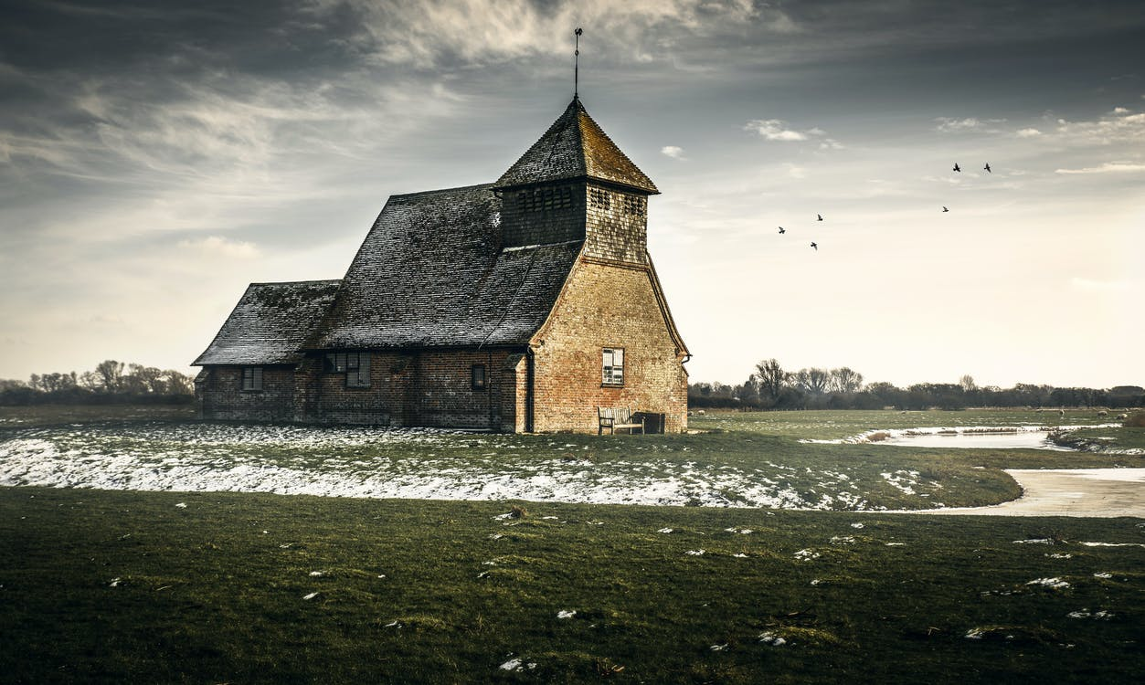 Immagine gratuita di abbandonato, acqua, architettura