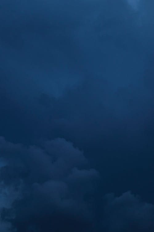 Free stock photo of cloud, dark clouds, navy blue
