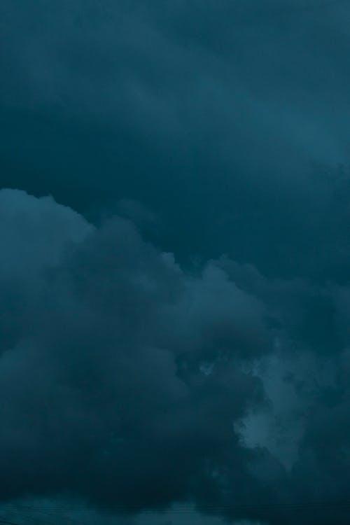 Free stock photo of dark clouds, nuvens, sky