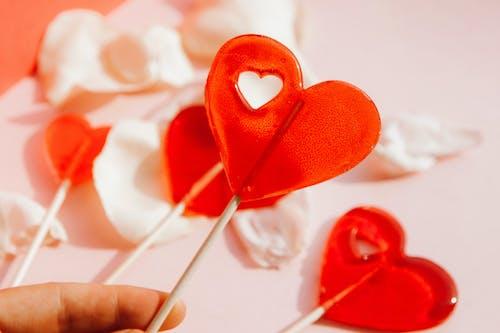 Heart Shape Lollipop Candies for Valentines