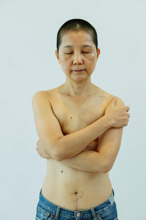 アジアの女性, インドア, うつ病の無料の写真素材