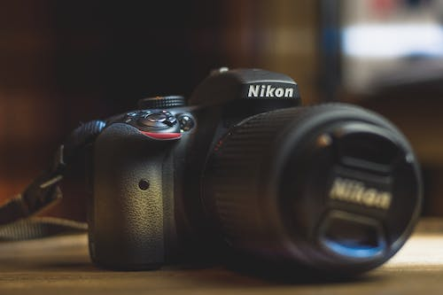 Foto d'estoc gratuïta de #nikon #camera #lens #photography #black