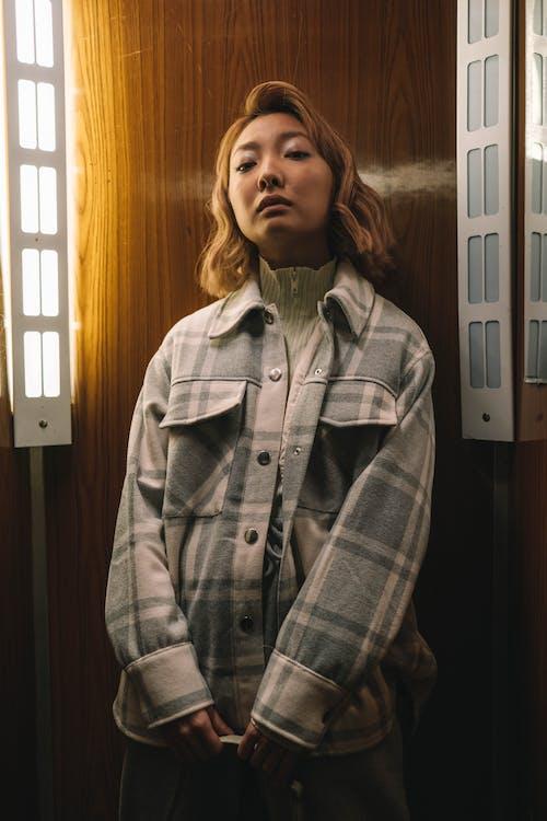 Kostenloses Stock Foto zu asiatische frau, blond, fashion