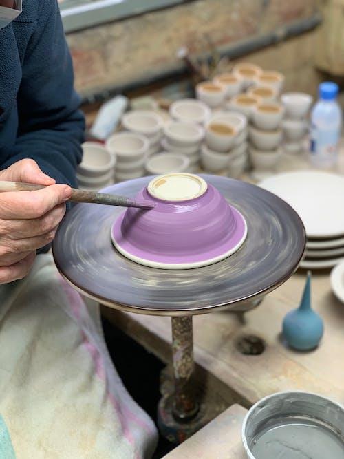 Immagine gratuita di abilità, arti e mestieri, ceramica