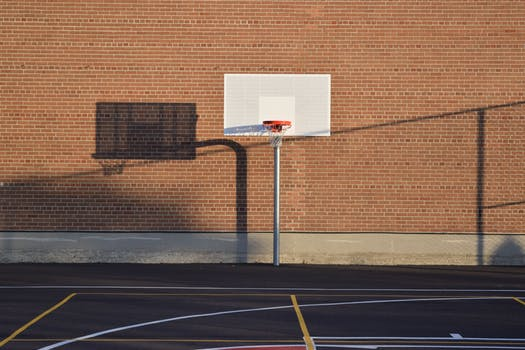 Free stock photos of basketball pexels for How much to build a basketball court