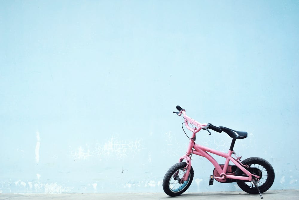 Pinkes Kinder-Fahrrad | Quelle: Pexels