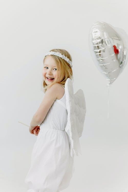 Free stock photo of balloon, bride, cute