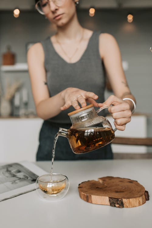 Free stock photo of adult, at home, black tea
