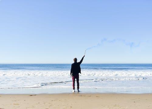 おとこ, ビーチ, 人, 冒険の無料の写真素材
