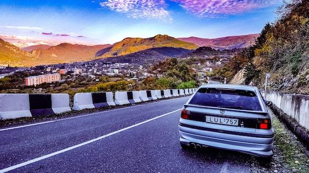 Free stock photo of mountains, nature, car, autumn