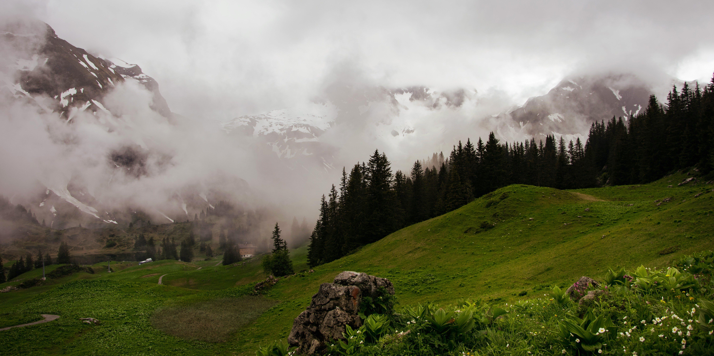 Free stock photo of alps, austria, fog, mountains